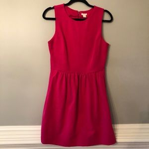 J. Crew Fuchsia Dress